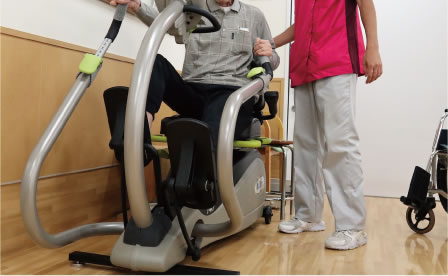 〈運動療法〉筋力トレーニング